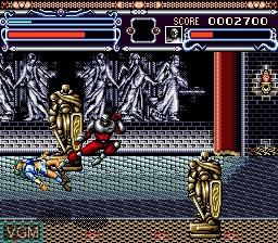 Image in-game du jeu Annet Futabi sur Sega Mega CD