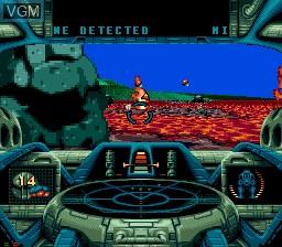 Image in-game du jeu BattleCorps sur Sega Mega CD