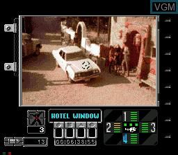 Image in-game du jeu Ground Zero Texas sur Sega Mega CD