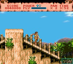 Image in-game du jeu Hook sur Sega Mega CD