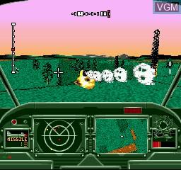 Image in-game du jeu Thunderhawk sur Sega Mega CD