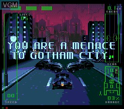 Image in-game du jeu Adventures of Batman and Robin, The sur Sega Mega CD