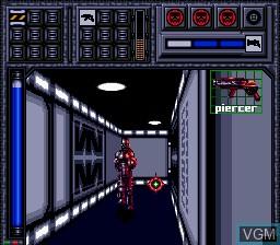 Image in-game du jeu Battle Frenzy sur Sega Mega CD