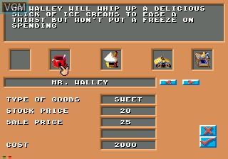 Image in-game du jeu Theme Park sur Sega Mega CD