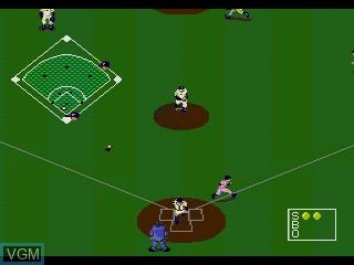 Image in-game du jeu Pro Yakyuu Super League CD sur Sega Mega CD