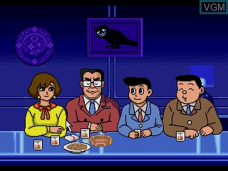 Image in-game du jeu Warau Salesman sur Sega Mega CD