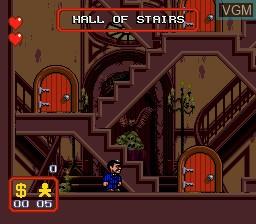 Image du menu du jeu Addams Family, The sur Sega Megadrive