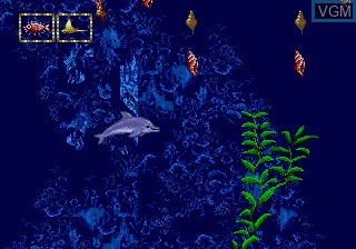 Image in-game du jeu ECCO - The Tides of Time sur Sega Megadrive