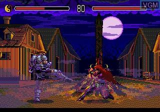 Image in-game du jeu Eternal Champions sur Sega Megadrive