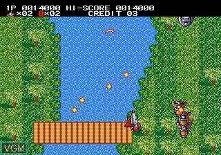 Image in-game du jeu Earth Defend, The sur Sega Megadrive