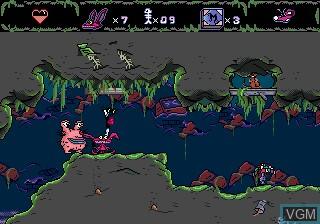 Image in-game du jeu AAAHH!!! Real Monsters sur Sega Megadrive