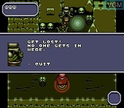 Image in-game du jeu Addams Family Values sur Sega Megadrive