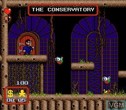 Image in-game du jeu Addams Family, The sur Sega Megadrive