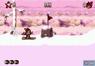 Image in-game du jeu Aero the Acro-Bat 2 sur Sega Megadrive