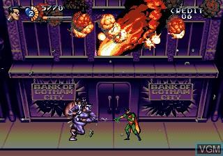 Image in-game du jeu Adventures of Batman and Robin, The sur Sega Megadrive