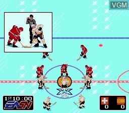 Image in-game du jeu EA Sports Double Header sur Sega Megadrive