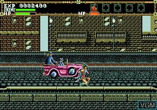 Image in-game du jeu El Viento sur Sega Megadrive