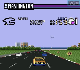 Image in-game du jeu ESPN SpeedWorld sur Sega Megadrive