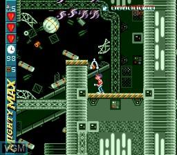 Image in-game du jeu Adventures of Mighty Max, The sur Sega Megadrive