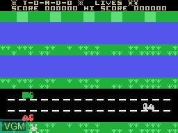 Image du menu du jeu Toado sur Memotech MTX 512