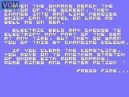 Image du menu du jeu Nemo sur Memotech MTX 512