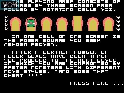 Image du menu du jeu Obloids sur Memotech MTX 512