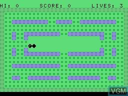 Image in-game du jeu Tapeworm sur Memotech MTX 512