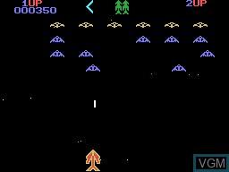Image in-game du jeu Arcazion sur Memotech MTX 512