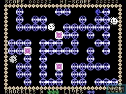 Image in-game du jeu K-N-U-C-K-L-E-S sur Memotech MTX 512