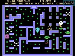 Image in-game du jeu Blobbo sur Memotech MTX 512