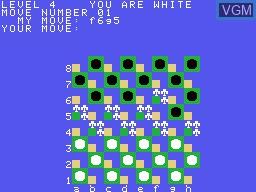 Image in-game du jeu Draughts sur Memotech MTX 512