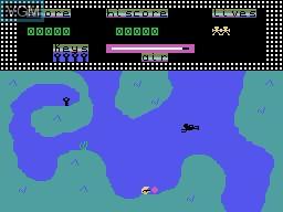 Image in-game du jeu Fathoms Deep sur Memotech MTX 512