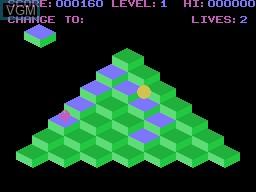 Image in-game du jeu Qogo sur Memotech MTX 512