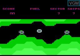 Image in-game du jeu Quazzia sur Memotech MTX 512