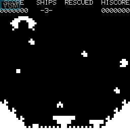 Image in-game du jeu Moon Rescue sur Tangerine Computer Systems Microtan 65