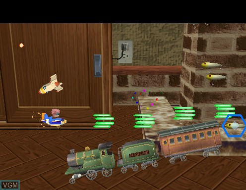 Image in-game du jeu Pilot Kids sur Model 2