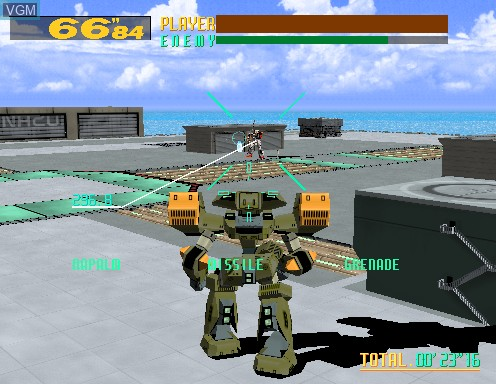 Virtual-On Cyber Troopers