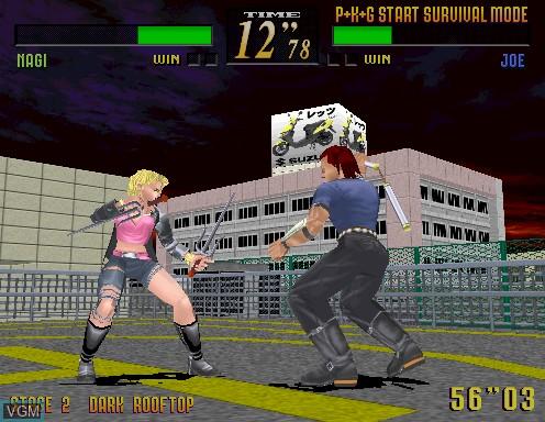 Image in-game du jeu Last Bronx sur Model 2