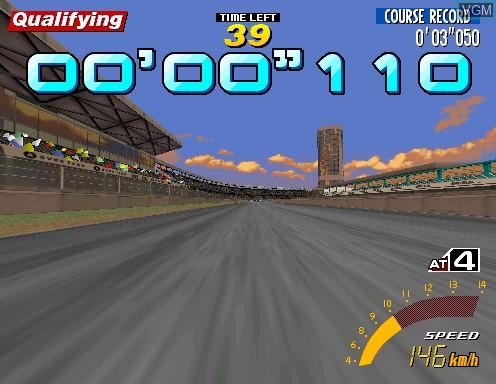 Image in-game du jeu Sega Touring Car Championship sur Model 2