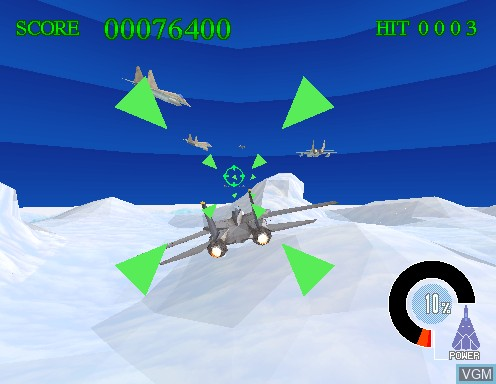 Image in-game du jeu Sky Target sur Model 2