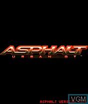 Image de l'ecran titre du jeu Asphalt - Urban GT sur Nokia N-Gage