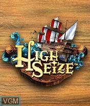 Image de l'ecran titre du jeu High Seize sur Nokia N-Gage