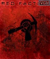 Image de l'ecran titre du jeu Red Faction sur Nokia N-Gage