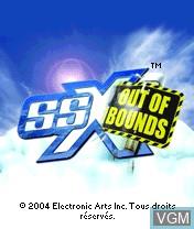 Image de l'ecran titre du jeu SSX Out of Bounds sur Nokia N-Gage