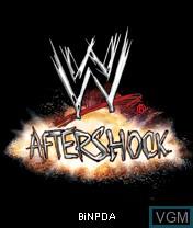 Image de l'ecran titre du jeu WWE Aftershock sur Nokia N-Gage