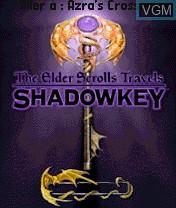 Image de l'ecran titre du jeu Elder Scrolls Travels, The - Shadowkey sur Nokia N-Gage