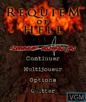 Image de l'ecran titre du jeu Requiem of Hell sur Nokia N-Gage