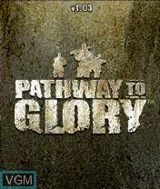 Image de l'ecran titre du jeu Pathway to Glory sur Nokia N-Gage