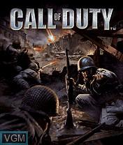 Image de l'ecran titre du jeu Call of Duty sur Nokia N-Gage