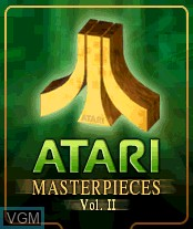 Image de l'ecran titre du jeu Atari Masterpieces Vol. II sur Nokia N-Gage